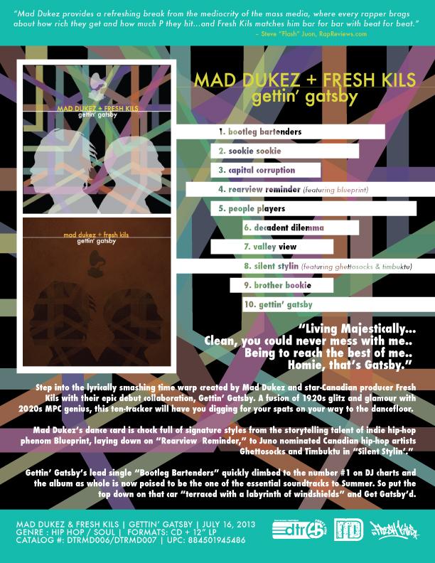 Mad dukez fresh kils gettin gatsby out july 16 gettingatsby malvernweather Choice Image