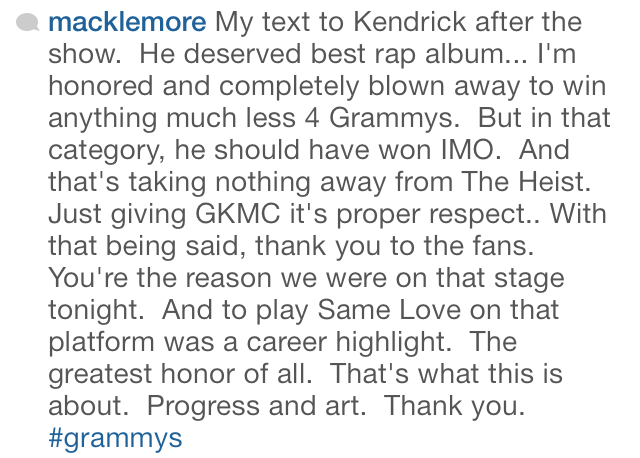 macklemore-grammys-instagram